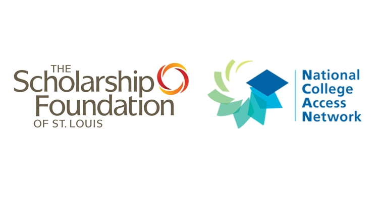 scholarship foundation and national college access network logos