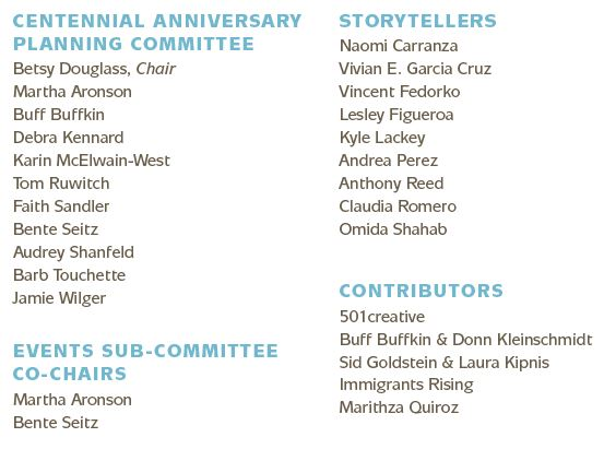 Contributors to KNOW US