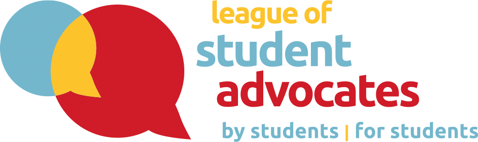 League of Student Advocates logo by students for students